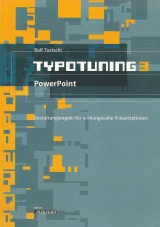 Cover Lernheft Typotuning 3: PowerPoint