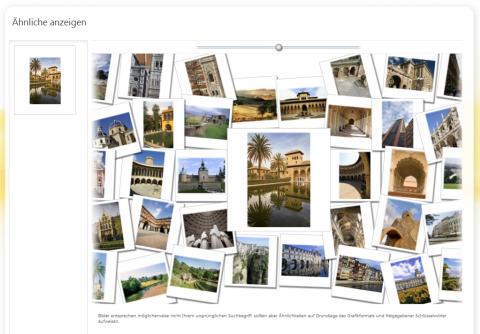 Microsoft Bilder-Suche im Web mit neuer Funktion