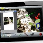 ScreenChomp zeichnet auf dem iPad auf, was gezeichnet und was gesprochen wird.